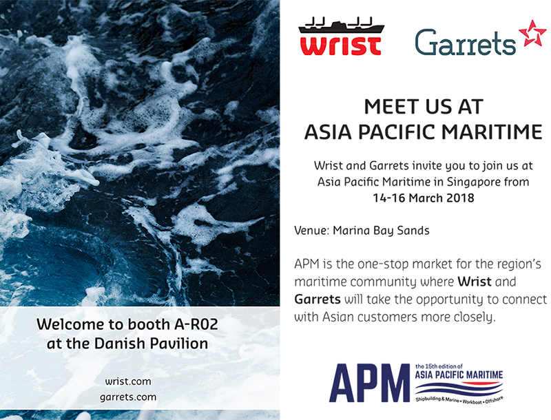 Meet us at Asia Pacific Maritime