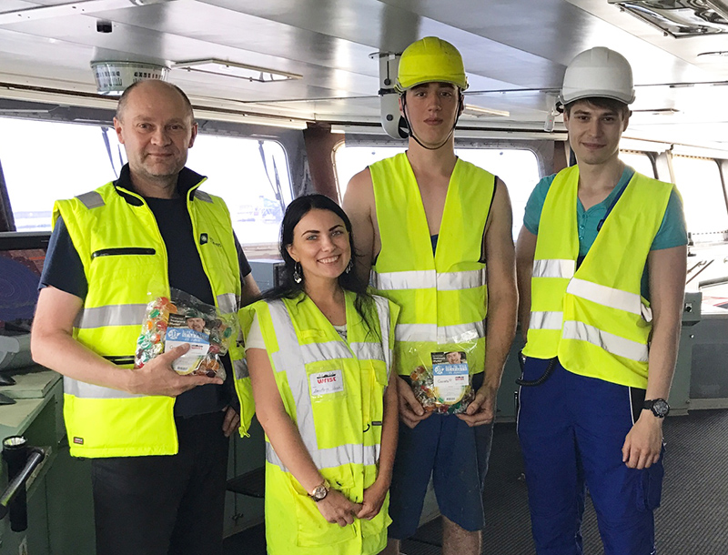 Wrist and Garrets celebrate Day of the Seafarer